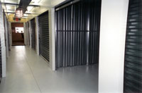climate controlled small self storage unit